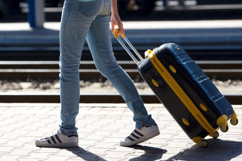 旅行の荷物を減らす画像
